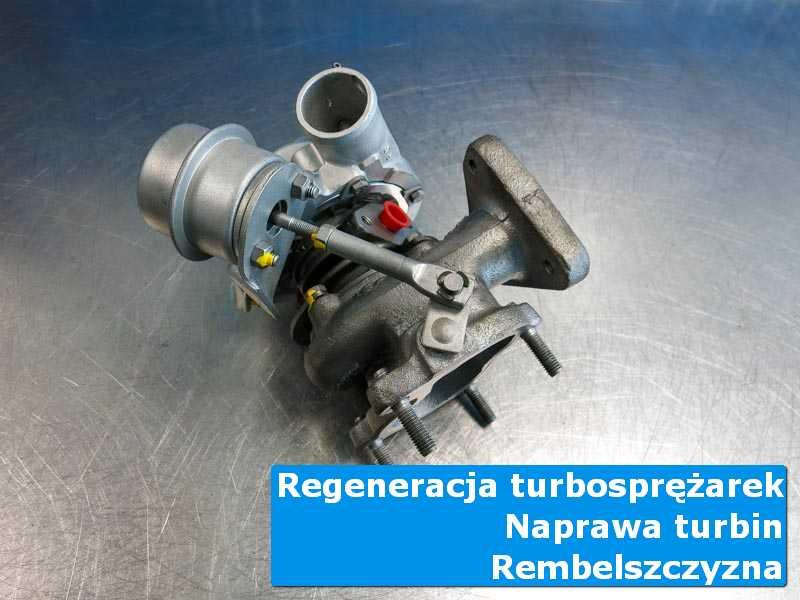 Układ turbodoładowania po wizycie w ASO na stole w laboratorium w Rembelszczyznie