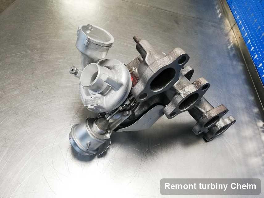 Turbo po zrealizowaniu serwisu Remont turbiny w firmie z Chełmu o osiągach jak nowa przed spakowaniem