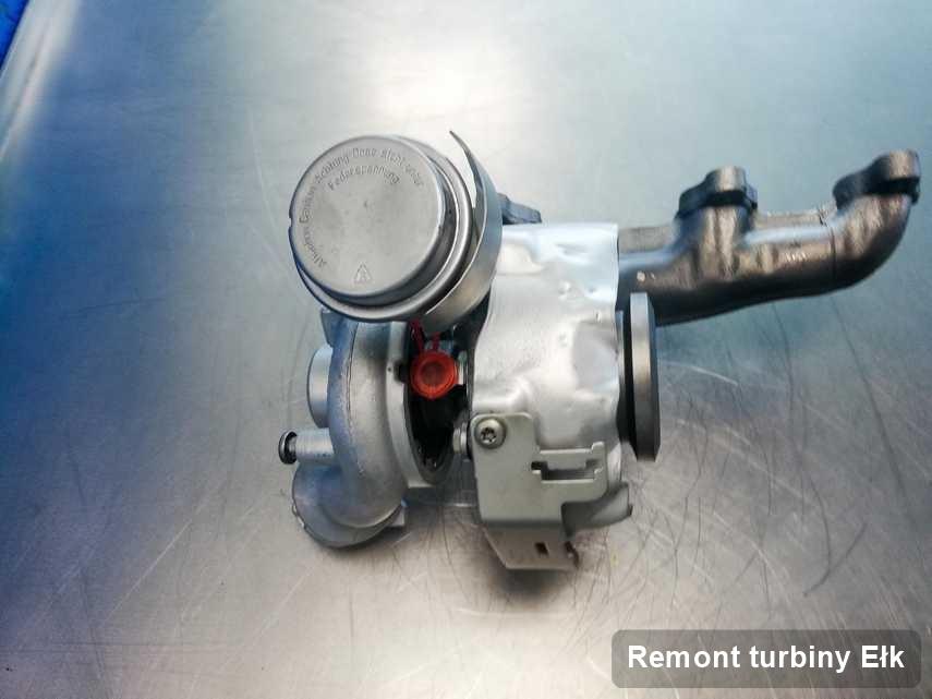 Turbo po wykonaniu zlecenia Remont turbiny w firmie z Ełku w doskonałej jakości przed wysyłką