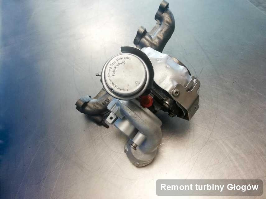 Turbosprężarka po przeprowadzeniu zlecenia Remont turbiny w warsztacie z Głogowa w doskonałej jakości przed spakowaniem