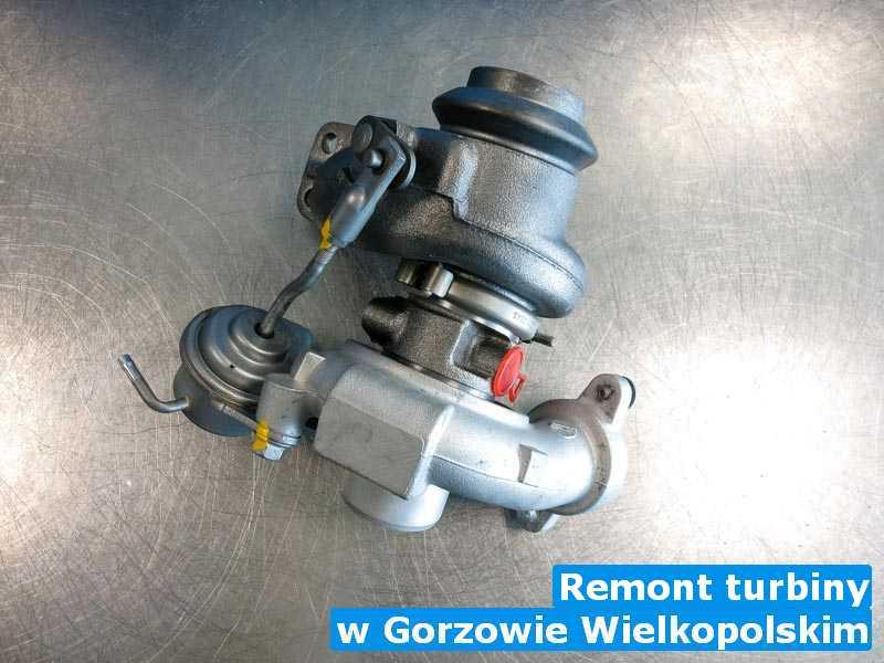 Turbo po przywróceniu osiągów z Gorzowa Wielkopolskiego - Remont turbiny, Gorzowie Wielkopolskim