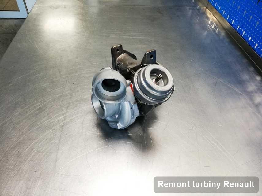 Turbina do samochodu marki Renault wyremontowana w przedsiębiorstwie gdzie realizuje się usługę Remont turbiny