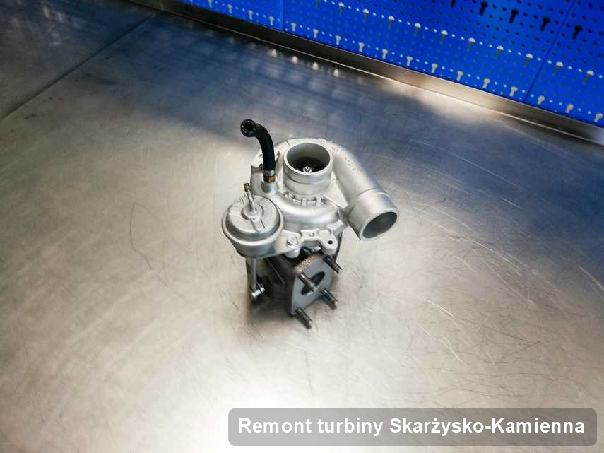 Turbo po zrealizowaniu usługi Remont turbiny w przedsiębiorstwie z Skarżyska-Kamiennej w świetnej kondycji przed wysyłką