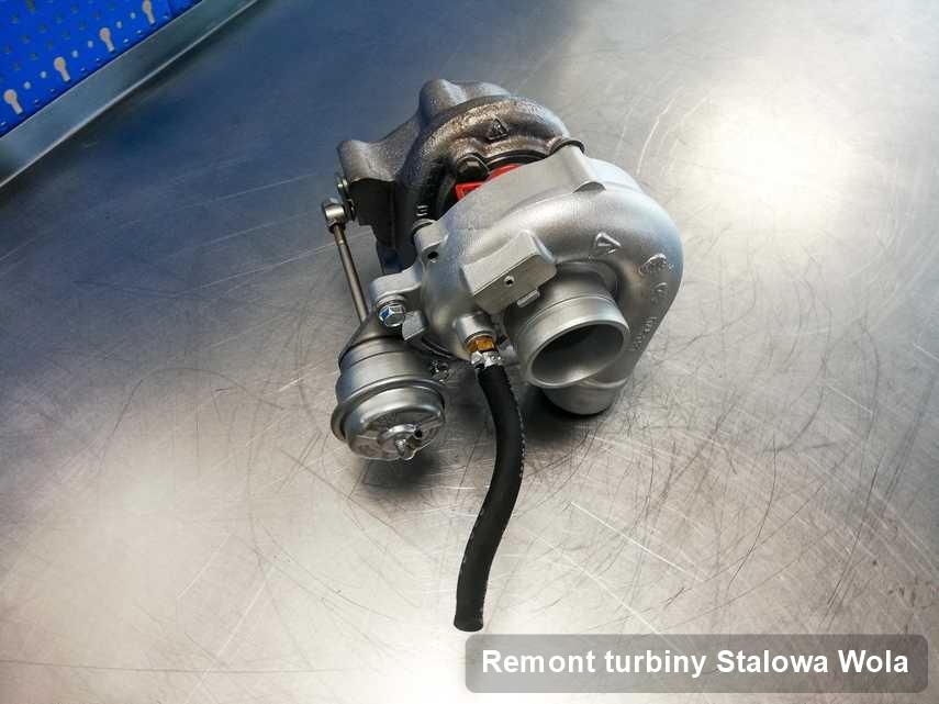 Turbosprężarka po zrealizowaniu usługi Remont turbiny w serwisie w Stalowej Woli w świetnej kondycji przed spakowaniem