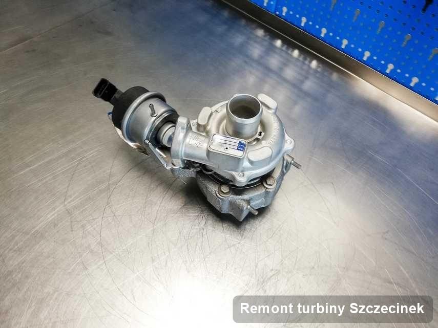 Turbosprężarka po przeprowadzeniu zlecenia Remont turbiny w firmie z Szczecinka w niskiej cenie przed wysyłką