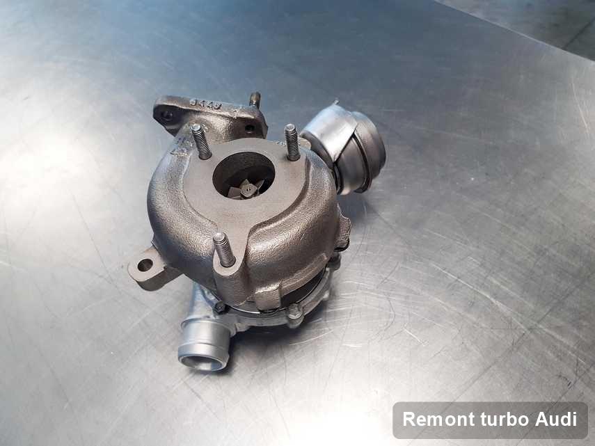 Turbina do diesla marki Audi naprawiona w przedsiębiorstwie gdzie wykonuje się serwis Remont turbo