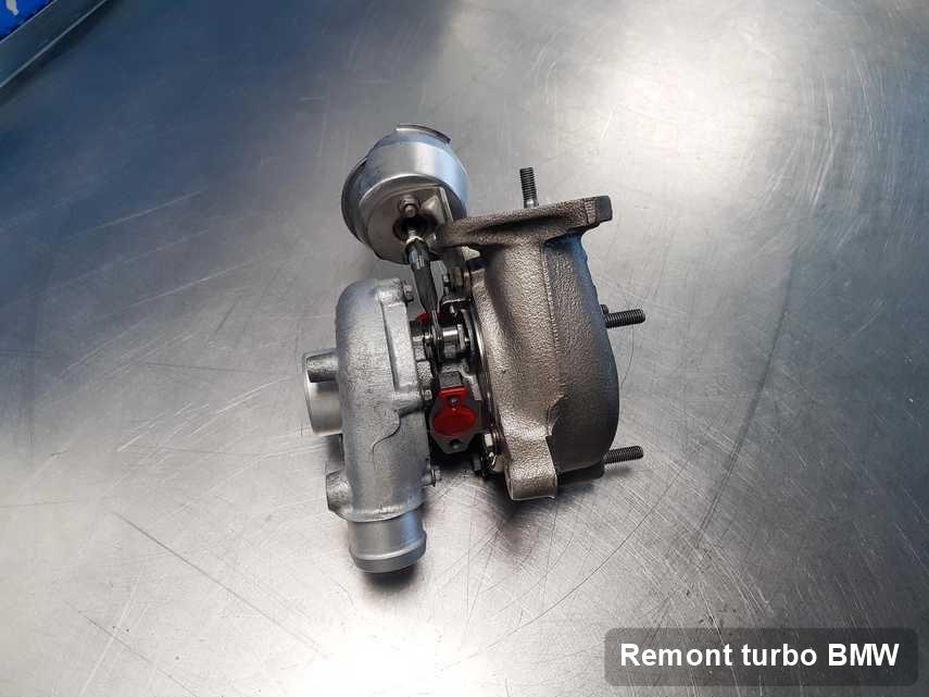 Turbosprężarka do diesla producenta BMW naprawiona w pracowni gdzie zleca się usługę Remont turbo