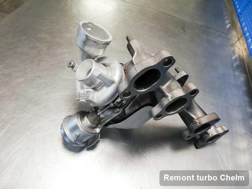 Turbosprężarka po zrealizowaniu usługi Remont turbo w serwisie w Chełmie o parametrach jak nowa przed wysyłką