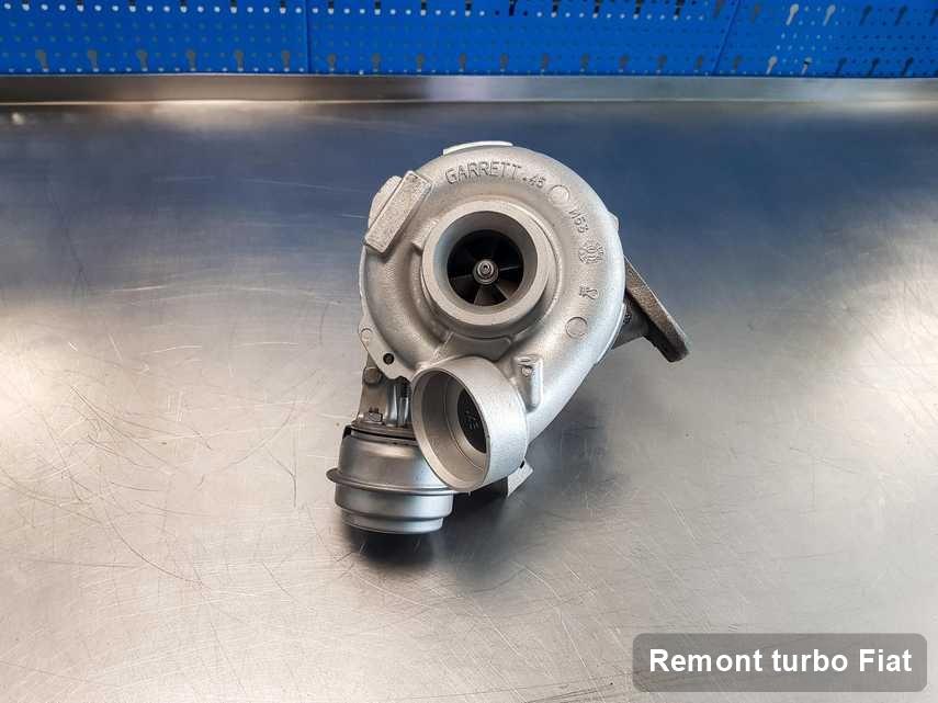 Turbina do pojazdu firmy Fiat po remoncie w firmie gdzie realizuje się usługę Remont turbo