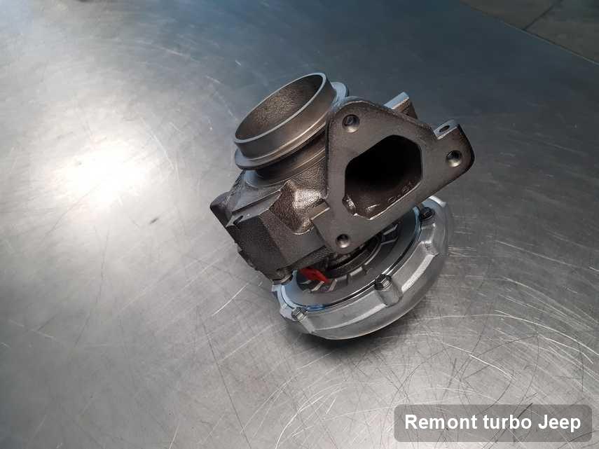 Turbina do auta osobowego firmy Jeep zregenerowana w firmie gdzie zleca się serwis Remont turbo