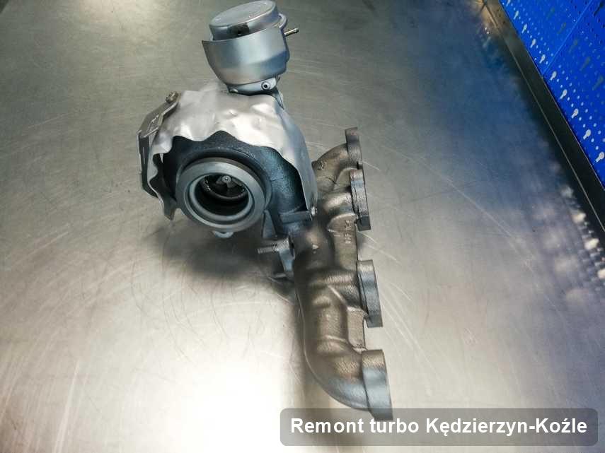 Turbina po realizacji serwisu Remont turbo w warsztacie w Kędzierzynie-Koźlu o osiągach jak nowa przed spakowaniem