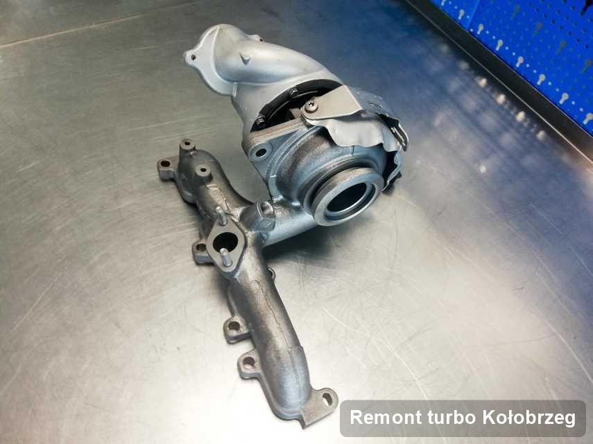 Turbo po przeprowadzeniu serwisu Remont turbo w firmie w Kołobrzegu w niskiej cenie przed wysyłką