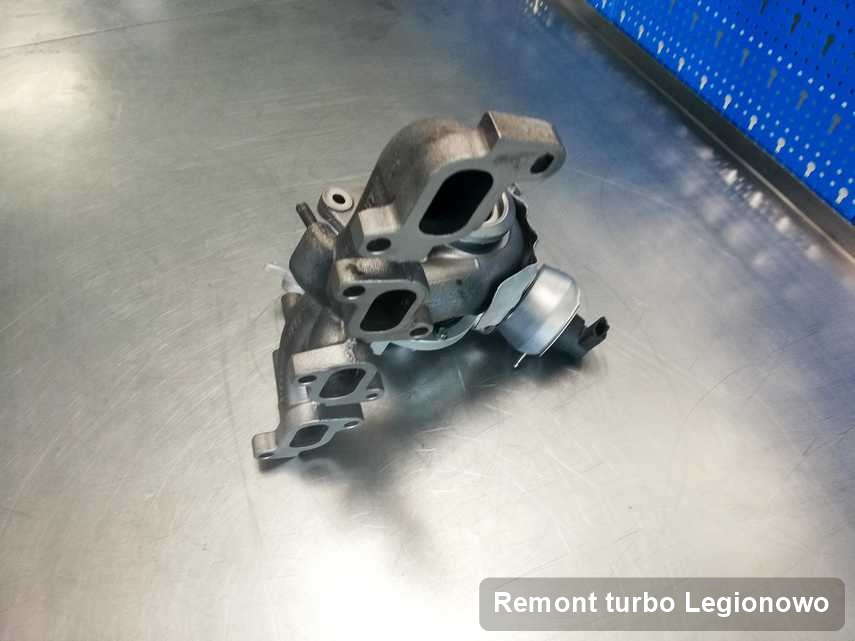 Turbina po wykonaniu zlecenia Remont turbo w pracowni regeneracji z Legionowa o parametrach jak nowa przed spakowaniem