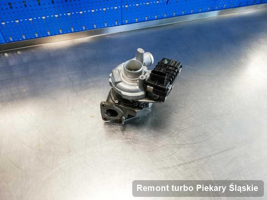 Turbina po zrealizowaniu zlecenia Remont turbo w pracowni regeneracji w Piekarach Śląskich w doskonałej jakości przed wysyłką