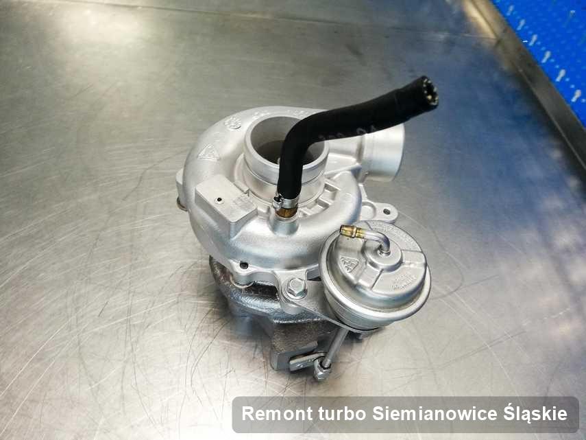 Turbina po zrealizowaniu usługi Remont turbo w przedsiębiorstwie w Siemianowicach Śląskich w doskonałej jakości przed spakowaniem