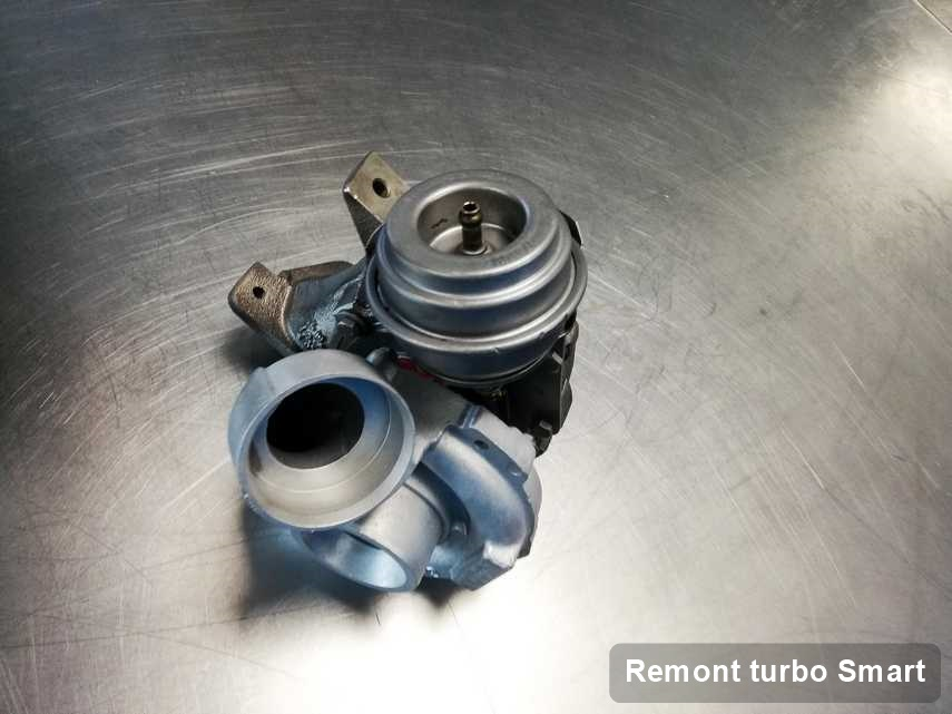 Turbina do diesla marki Smart po naprawie w warsztacie gdzie zleca się usługę Remont turbo