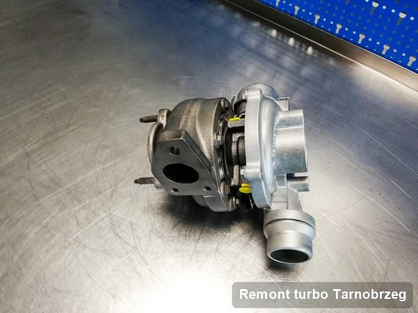 Turbosprężarka po przeprowadzeniu usługi Remont turbo w warsztacie z Tarnobrzeg z przywróconymi osiągami przed spakowaniem