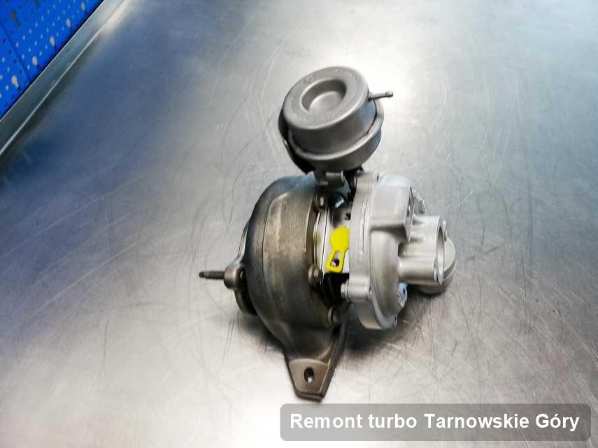 Turbosprężarka po wykonaniu zlecenia Remont turbo w serwisie w Tarnowskich Górach w świetnej kondycji przed wysyłką