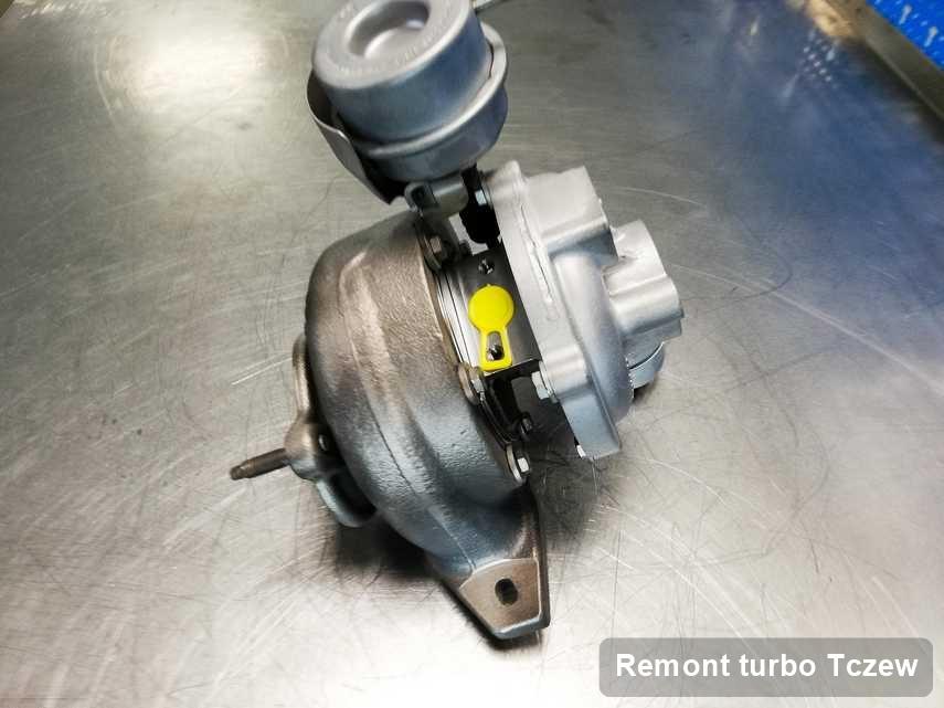 Turbo po przeprowadzeniu serwisu Remont turbo w warsztacie w Tczewie w świetnej kondycji przed wysyłką
