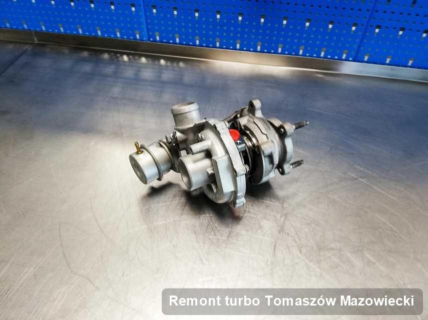 Turbo po wykonaniu usługi Remont turbo w firmie z Tomaszowa Mazowieckiego w doskonałej kondycji przed spakowaniem