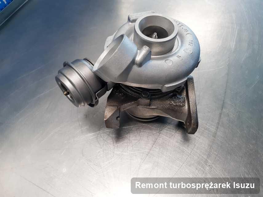 Turbina do auta spod znaku Isuzu wyremontowana w warsztacie gdzie wykonuje się serwis Remont turbosprężarek