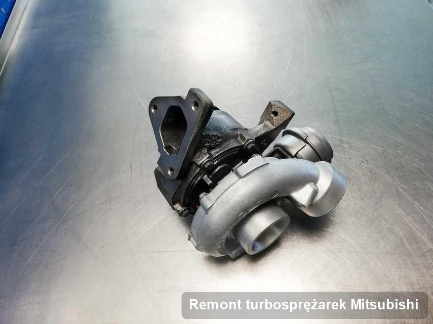Turbina do osobówki firmy Mitsubishi wyczyszczona w przedsiębiorstwie gdzie wykonuje się usługę Remont turbosprężarek