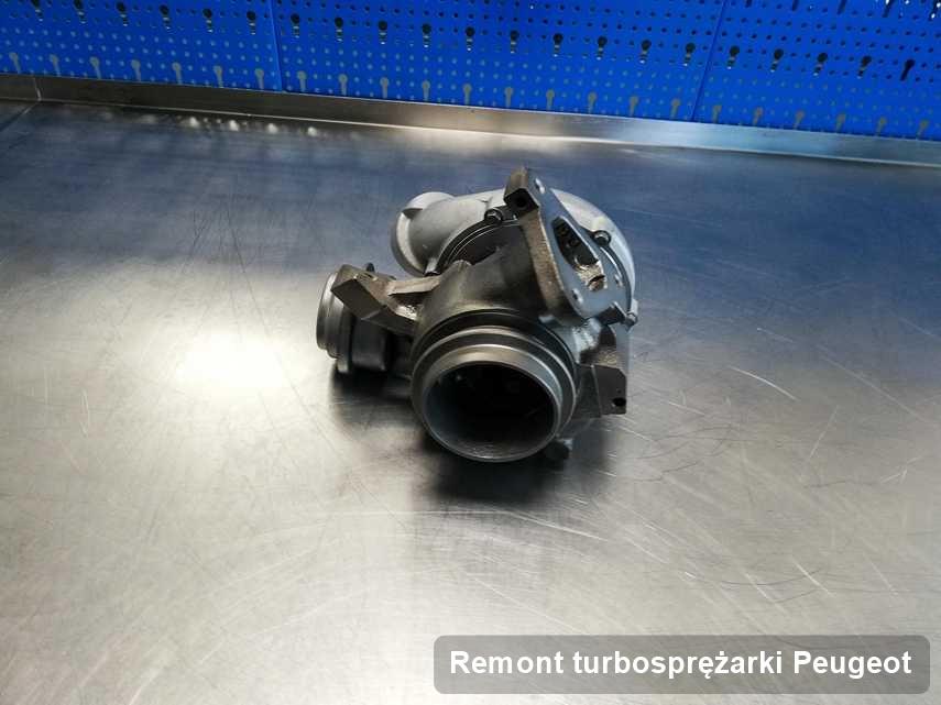 Turbina do pojazdu producenta Peugeot naprawiona w firmie gdzie przeprowadza się  usługę Remont turbosprężarki