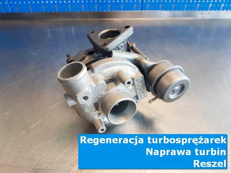 Układ turbodoładowania po serwisie w specjalistycznej pracowni w Reszlu