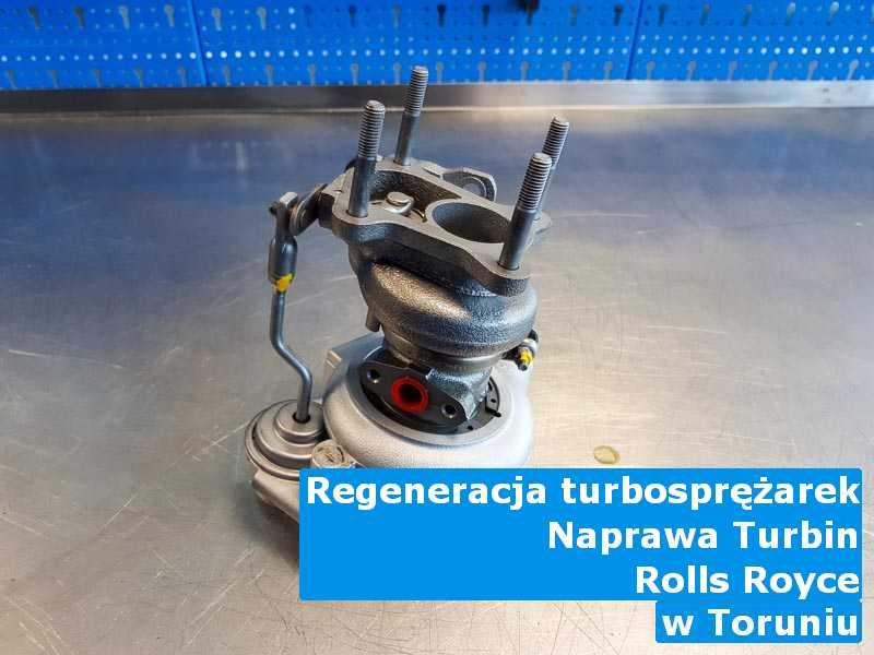 Turbosprężarka marki Rolls Royce wysłana do warsztatu z Torunia