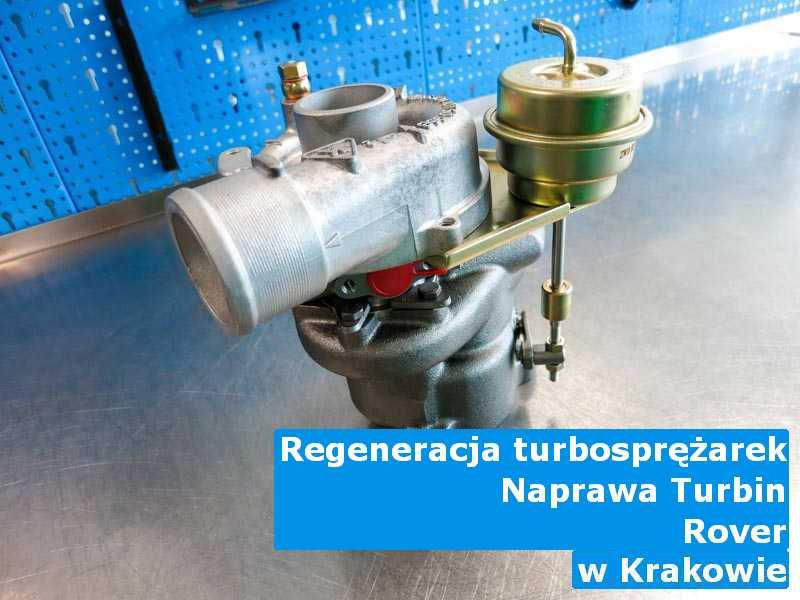 Turbosprężarka z auta Rover wysłana do regeneracji pod Krakowem