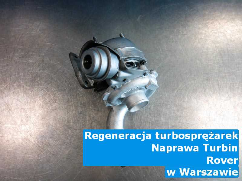 Turbosprężarki z samochodu Rover wysłane do warsztatu z Warszawy