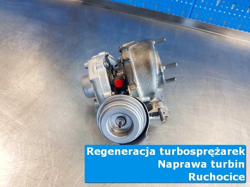 Układ turbodoładowania po wymianie w specjalistycznej pracowni z Rochocic