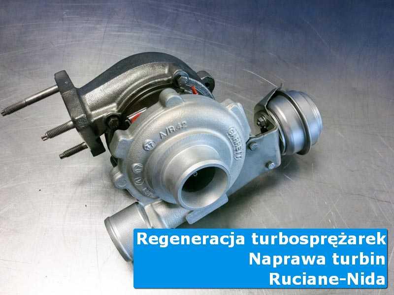 Układ turbodoładowania przed wymianą w specjalistycznej pracowni z Rucianego-Nidy