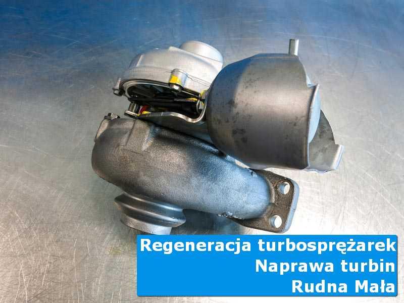 Układ turbodoładowania przed pakowaniem w laboratorium w Rudnej Małej