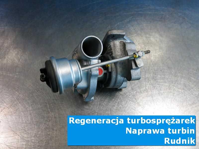 Turbosprężarka przed pakowaniem w autoryzowanej pracowni z Rudnika