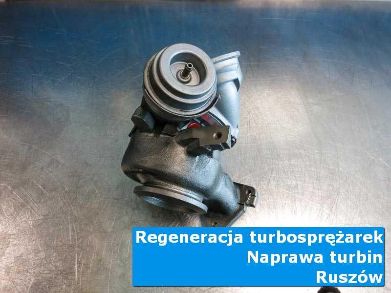 Układ turbodoładowania po demontażu w autoryzowanej pracowni z Ruszowa