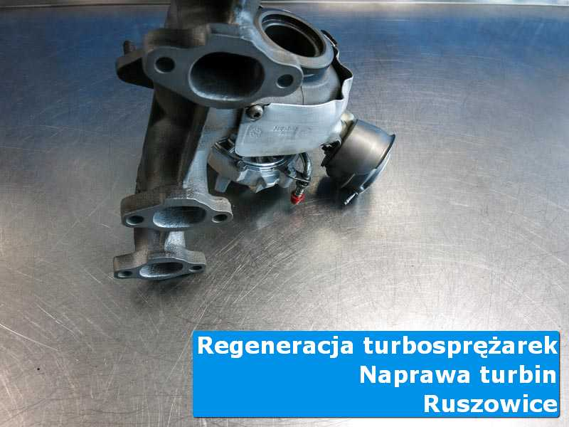 Turbosprężarka po wymianie w specjalistycznej pracowni w Ruszowicach
