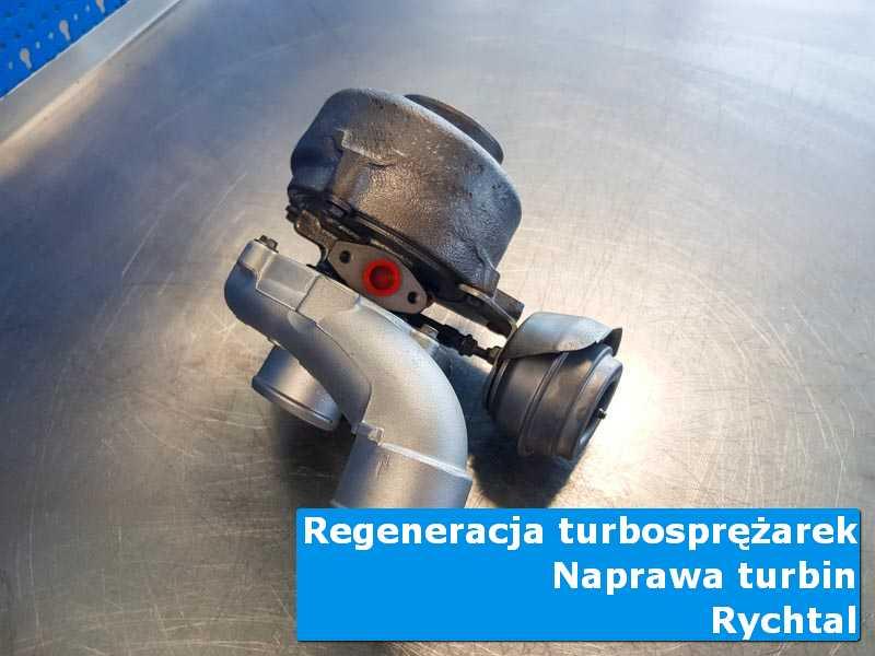 Turbosprężarka przed pakowaniem w pracowni z Rychtalu