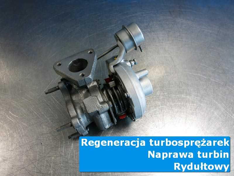 Układ turbodoładowania po regeneracji w laboratorium z Rydułtowów
