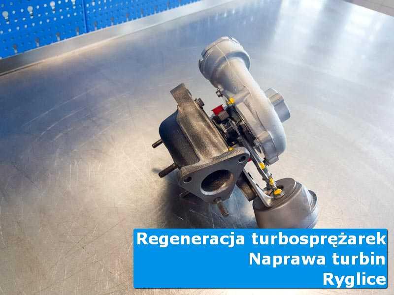 Układ turbodoładowania po czyszczeniu w autoryzowanej pracowni z Ryglic
