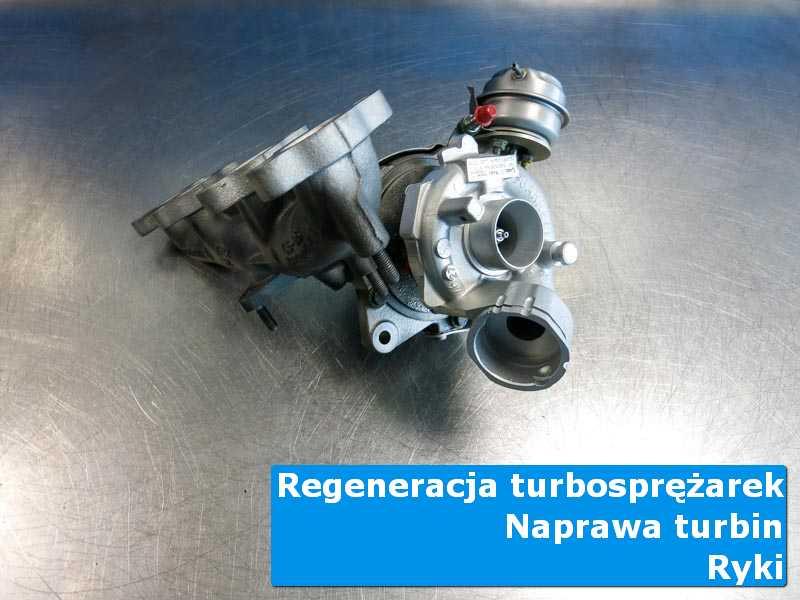 Turbosprężarka po wymianie u specjalistów z Ryk