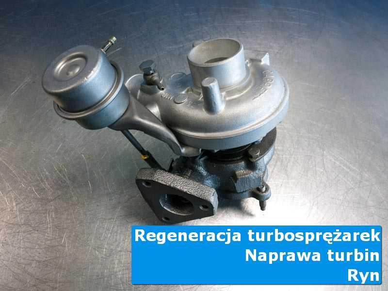 Turbosprężarka przed wymianą w autoryzowanej pracowni w Rynie