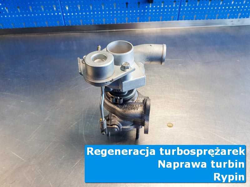Turbosprężarka po przygotowaniu na stole w laboratorium z Rypina