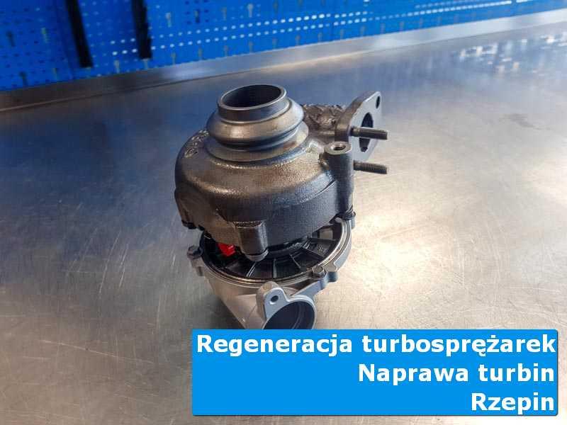 Układ turbodoładowania po wyważaniu w nowoczesnej pracowni w Rzepinie