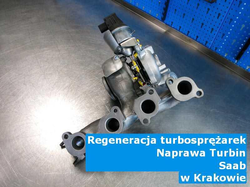 Turbiny z auta Saab naprawione pod Krakowem