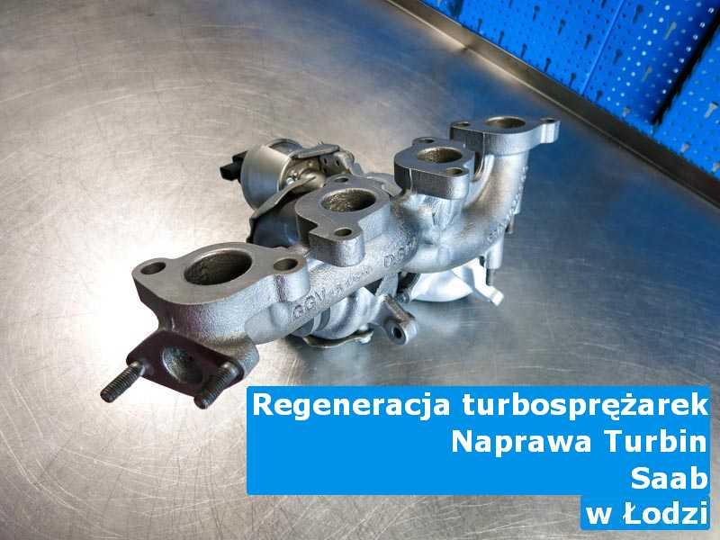 Turbosprężarka z samochodu Saab dostarczona do warsztatu w Łodzi