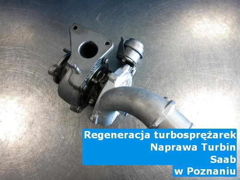 Turbosprężarka marki Saab zdemontowana z Poznania