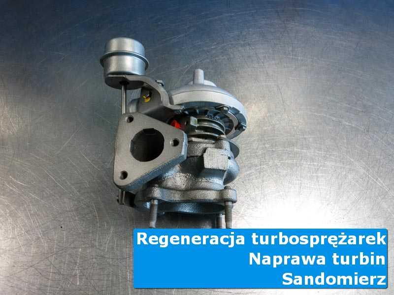 Układ turbodoładowania przed oddaniem do klienta u specjalistów w Sandomierzu