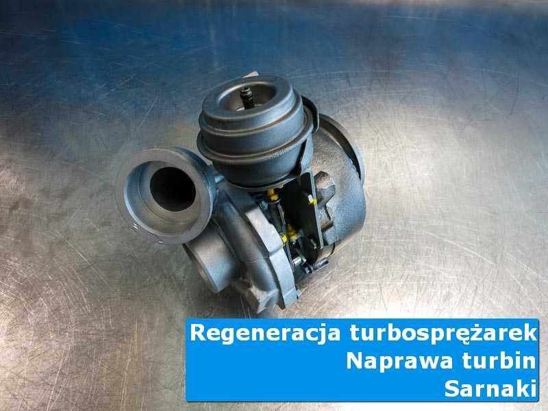 Układ turbodoładowania po wyważaniu w autoryzowanej pracowni w Sarnakach