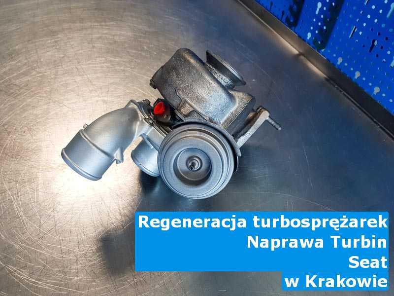 Turbo z samochodu Seat po procesie regeneracji z Krakowa